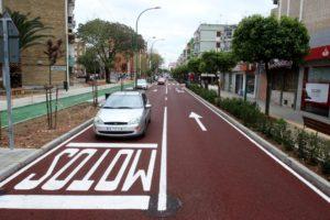 La Avenida del Greco reabre al tráfico