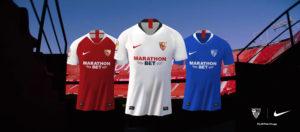 El Sevilla FC presenta las camisetas de la nueva temporada