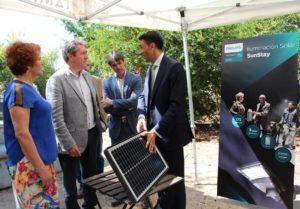 El Parque Infanta Elena implementa un proyecto piloto de iluminación pública exclusivamente con energía solar
