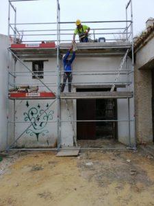 Arranca la rehabilitación de las Antiguas Caballerizas, la Torre del Contrapeso y la Nave del Molino de la Hacienda Miraflores