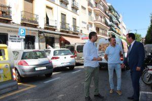 Habilitadas 27 nuevas plazas de aparcamiento en la calle Feria
