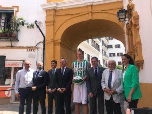 En su vuelta a la Liga Endesa, Coosur será el patrocinador principal del Real Betis Baloncesto