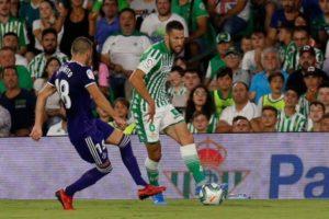 Inmerecida derrota del Real Betis frente al Valladolid
