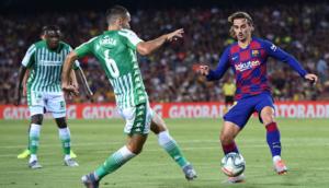 El Barcelona golea al Betis
