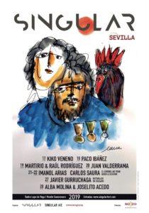 El Festival SINGULAR se anuncia con un cartel de Carlos Saura