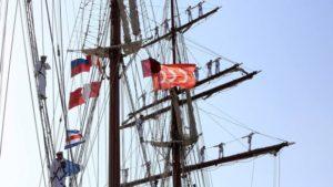 La Armada homenajea en Sevilla a la expedición que consiguió dar la primera vuelta al mundo