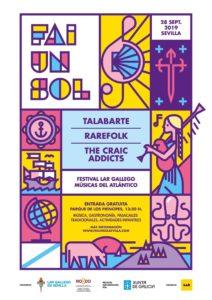 El Parque de los Príncipes acogerá el sábado el I festival de música celta 'Fai un sol', impulsado por el Lar Gallego de Sevilla