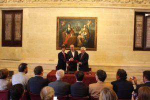 En el Día Mundial del Turismo, Ayuntamiento, CES y Cámara de Comercio firman una declaración para definir el modelo del sector