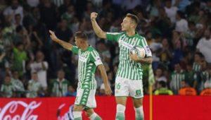 El Betis abre la cuenta sumando 3 puntos frente al Leganés