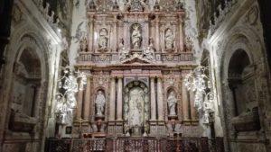 La Catedral renueva la iluminación de la capilla de la Antigua
