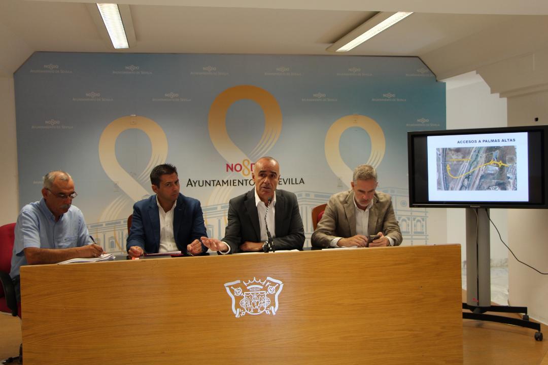 Presentados los proyectos de urbanización de las parcelas de Cruzcampo, Abengoa Ibinsa y Palmas Altas