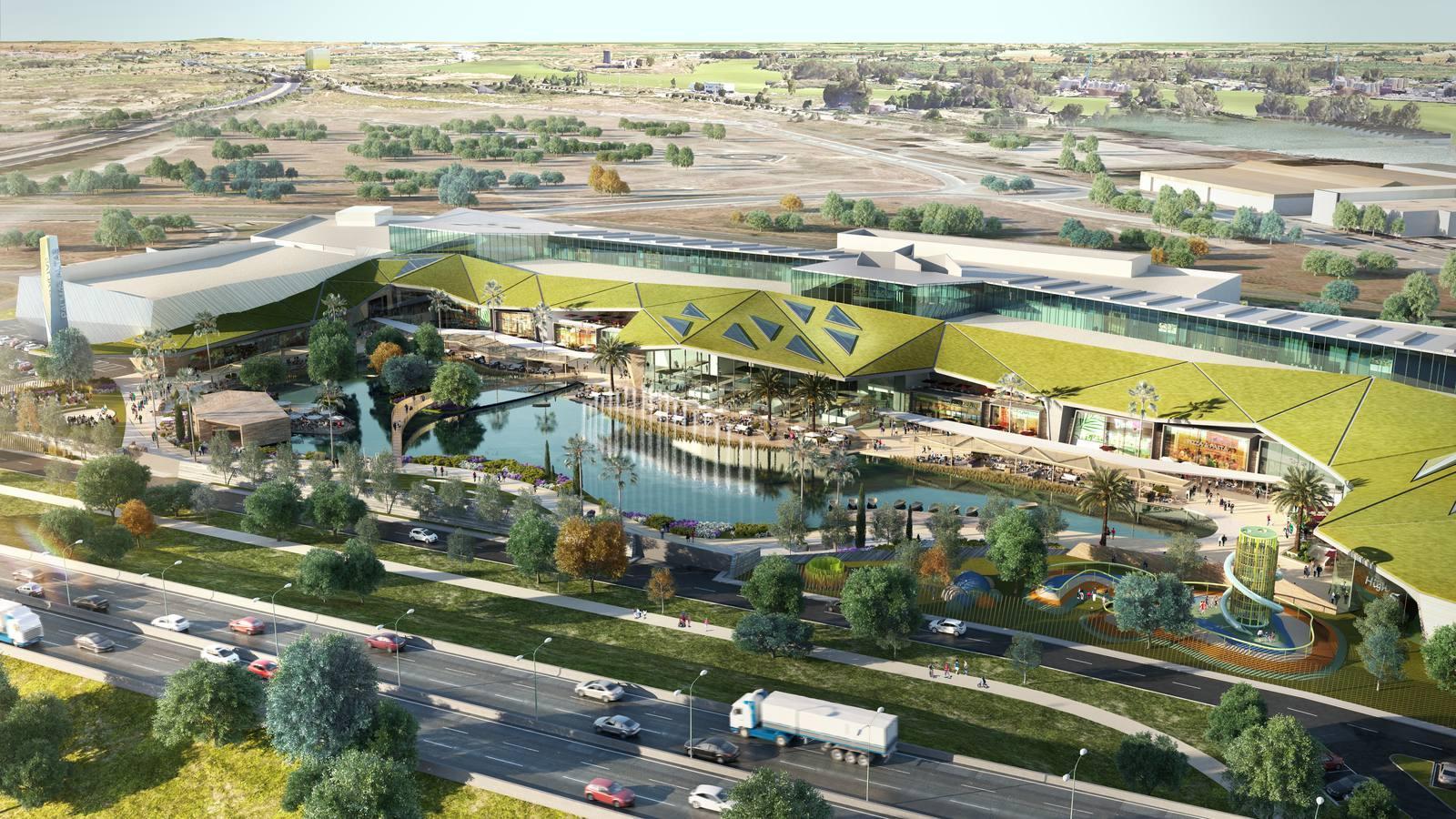 Una nueva línea de Tussam conectará el Prado con el centro comercial Lagoh