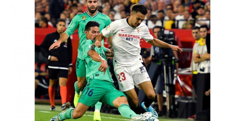 El Sevilla FC cae ante el Madrid en su primera derrota de la temporada