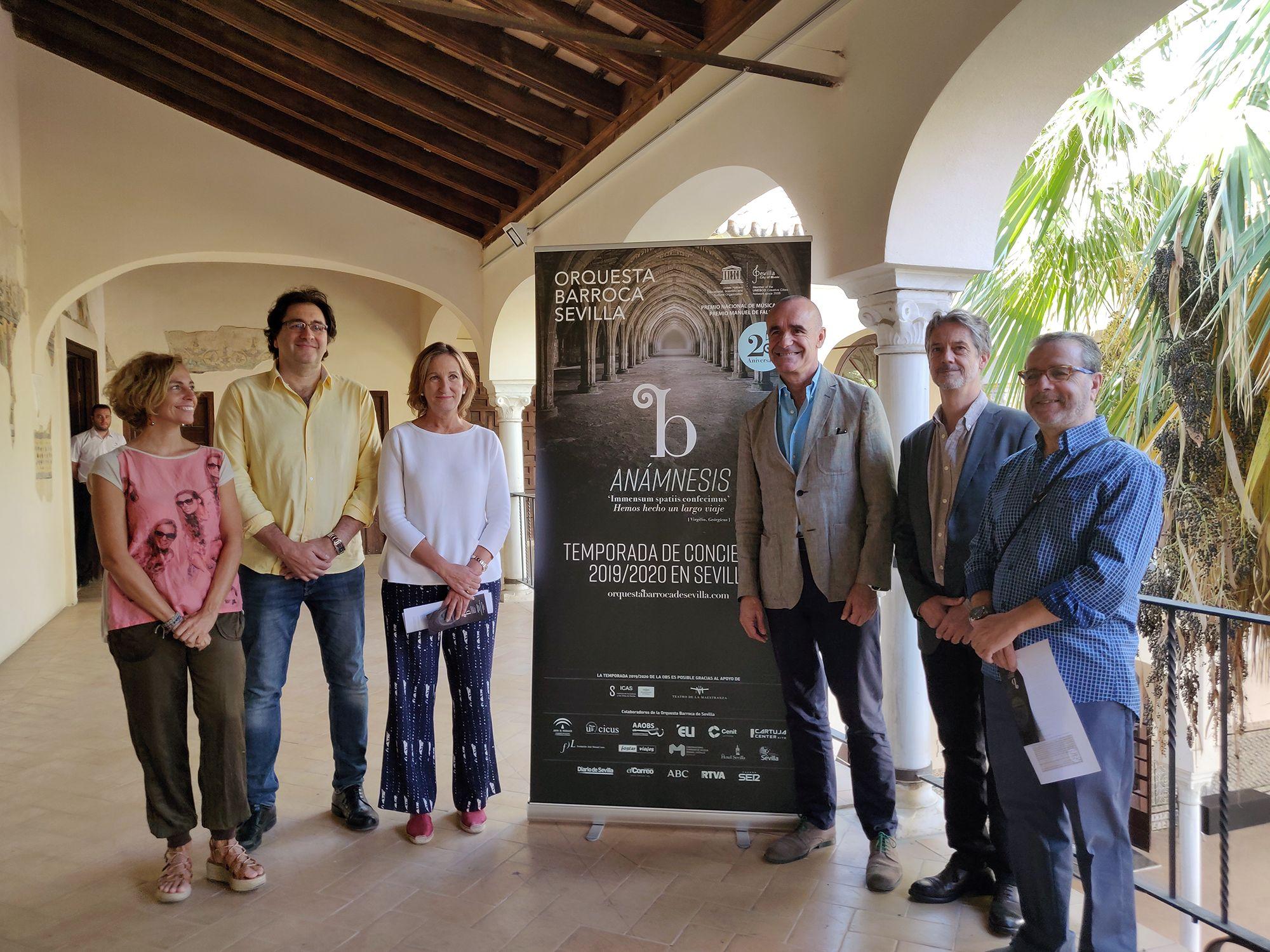 La Orquesta Barroca de Sevilla celebra esta temporada el 25 aniversario de su fundación