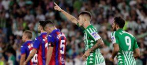 El Real Betis consigue el empate ante el Eibar