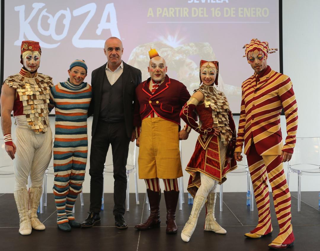 Cirque du Soleil regresa a Sevilla con 'Kooza'