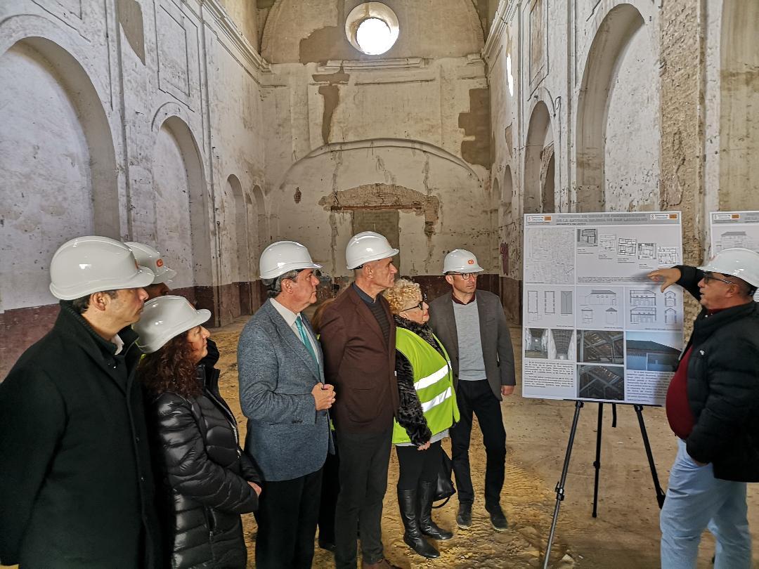 Urbanismo inicia las obras de conservación en San Laureano mientras decide su uso