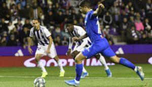 Sufrida victoria del Sevilla en Valladolid