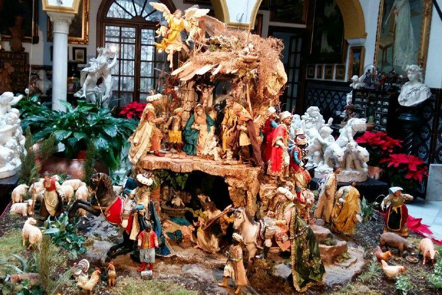 Inaugurado el Belén Napolitano de la Casa Fabiola Colección Mariano Bellver