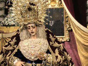 La Virgen de la Encarnación de San Benito irá a la Catedral este fin de semana para celebrar los 25 años de su Coronación