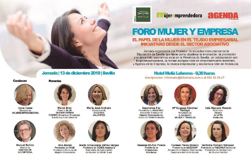 El Foro Mujer y Empresa dará voz al tejido asociativo en femenino
