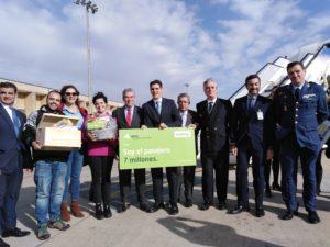 """El Aeropuerto celebra la llegada de su """"Pasajero 7 millones"""""""