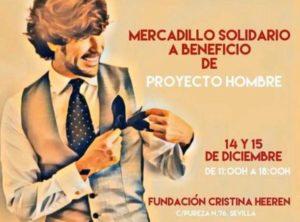 Manuel Lombo organiza un mercadillo solidario para Proyecto Hombre