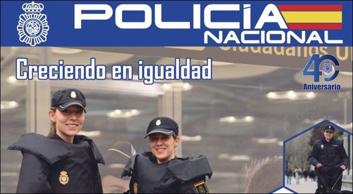 La Casa de la Ciencia celebra con una exposición los 40 años de la mujer en la Policía Nacional