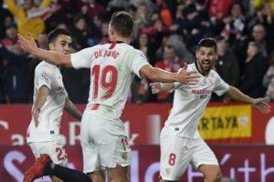 El Sevilla se hace fuerte en casa