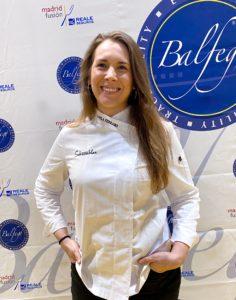 La sevillana Camila Ferraro, la 1ª mujer en ser nombrada cocinera revelación en Madrid Fusión