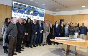 Sevilla lleva a Fitur la Bienal, las efemérides de la 1ª vuelta al mundo y el 150 aniversario de Bécquer