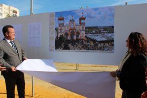Comienza la construcción de la portada de la Feria de Abril de 2020
