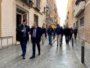 Culmina la reurbanización de la calle San Vicente