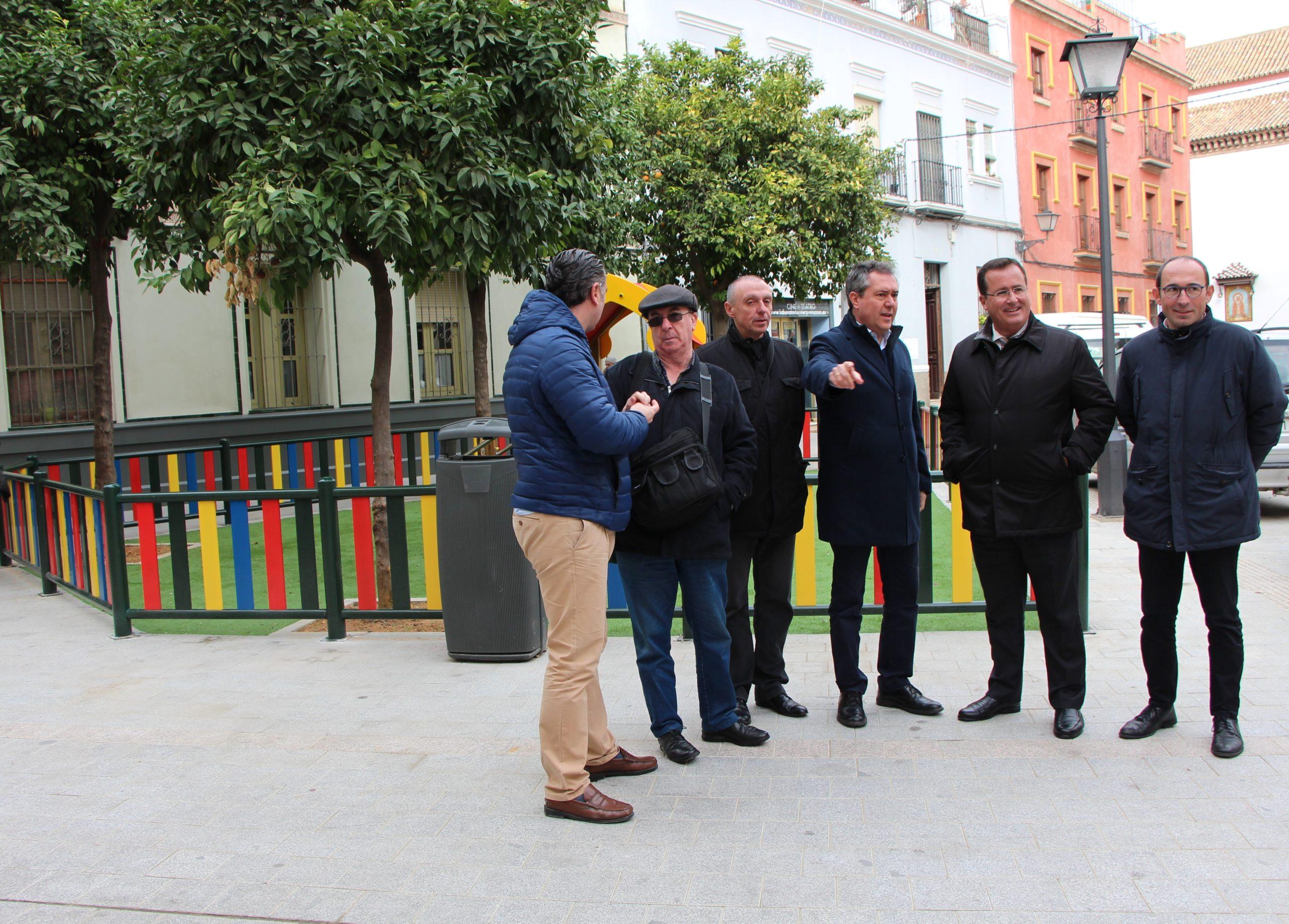 Finalizan las obras de reurbanización del entorno de San Julián