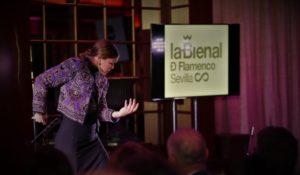 Eva Yerbabuena inaugurará la Bienal 2020