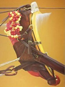 """La obra """"Guarnición"""" anunciará la Exhibición de Enganches de la Feria"""
