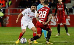 El Sevilla FC le dice adiós a la Copa en Miranda de Ebro
