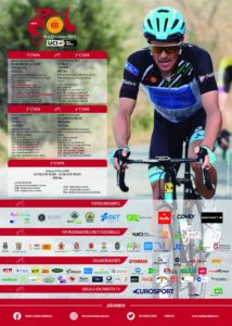 La Plaza de España acoge la salida de la 2ª etapa de la Vuelta Ciclista Andalucía
