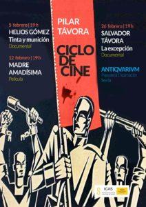 Ciclo de cine dedicado a Pilar Távora en el Antiquarium