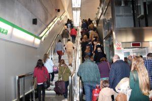 Metro de Sevilla alcanza el mejor mes de enero de su historia mientras avanza en la línea 3
