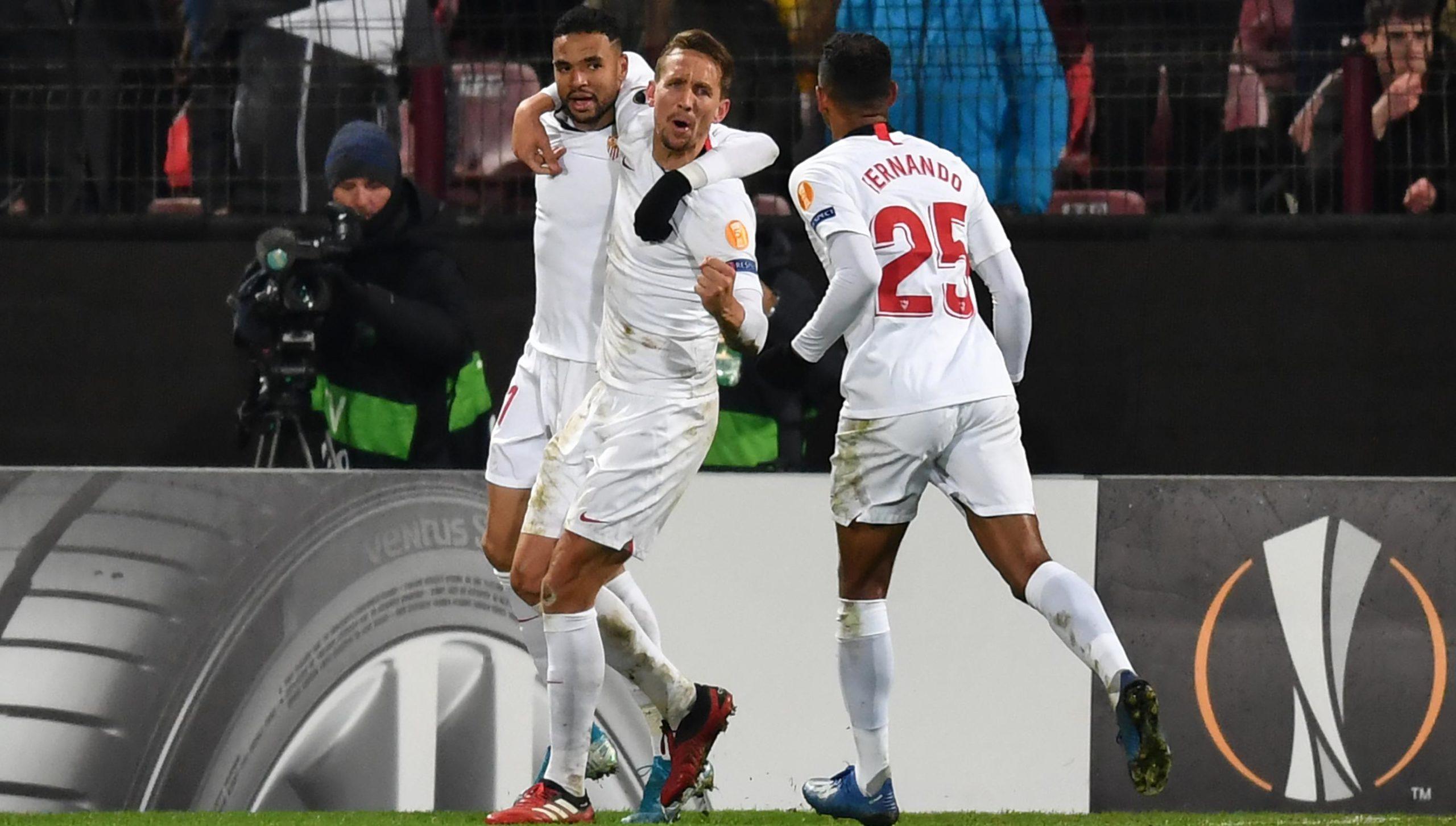 El Sevilla saca un empate en un mal partido ante el Cluj