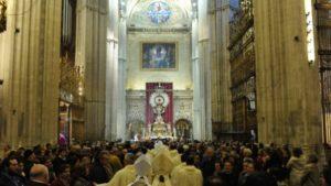 El Arzobispado suprime la celebración pública de la Santa Misa
