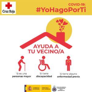 #YoHagoPorTi, las 10 conductas imprescindibles para ayudar a tus vecinos incapacitados