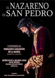 """Conferencia sobre """"El Nazareno de San Pedro"""""""
