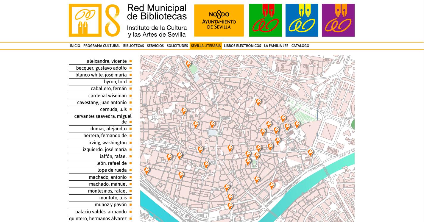 """""""Sevilla literaria"""", recorrido virtual por azulejos y placas relacionadas con autores universales"""