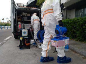 El Zoosanitario Municipal avanza en un plan extraordinario de desinfección