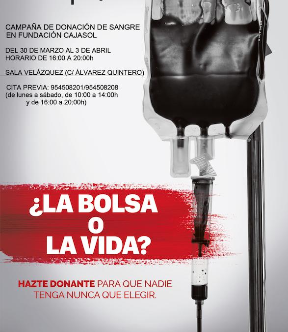 Semana para donar sangre en Cajasol