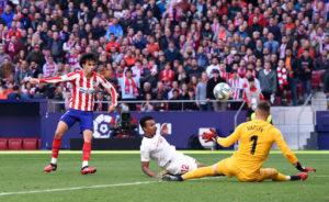 Valioso punto para el Sevilla en el Wanda Metropolitano