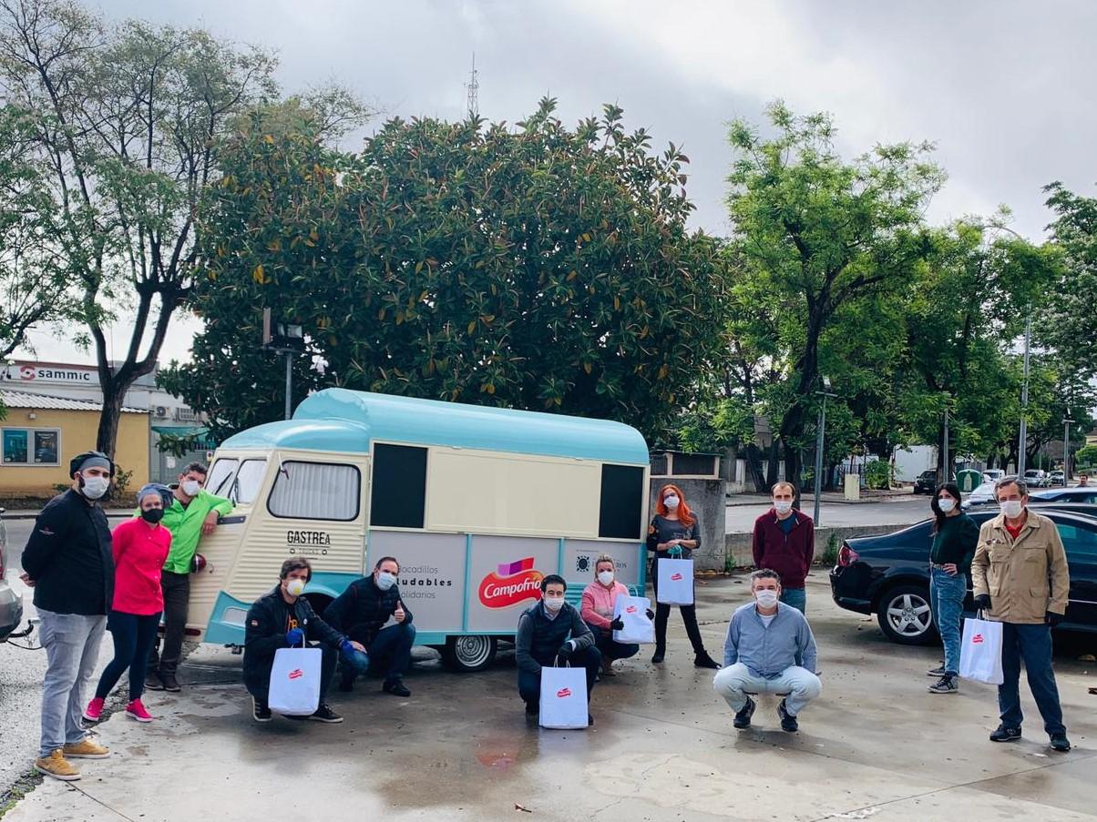 'Bocadillos Saludables Solidarios' de Campofrío y la Asociación de Hosteleros para los más desfavorecidos