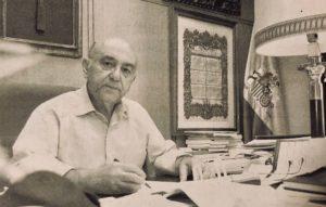Fallece Don Enrique Barrero, presidente del Ateneo entre 1999 y 2010